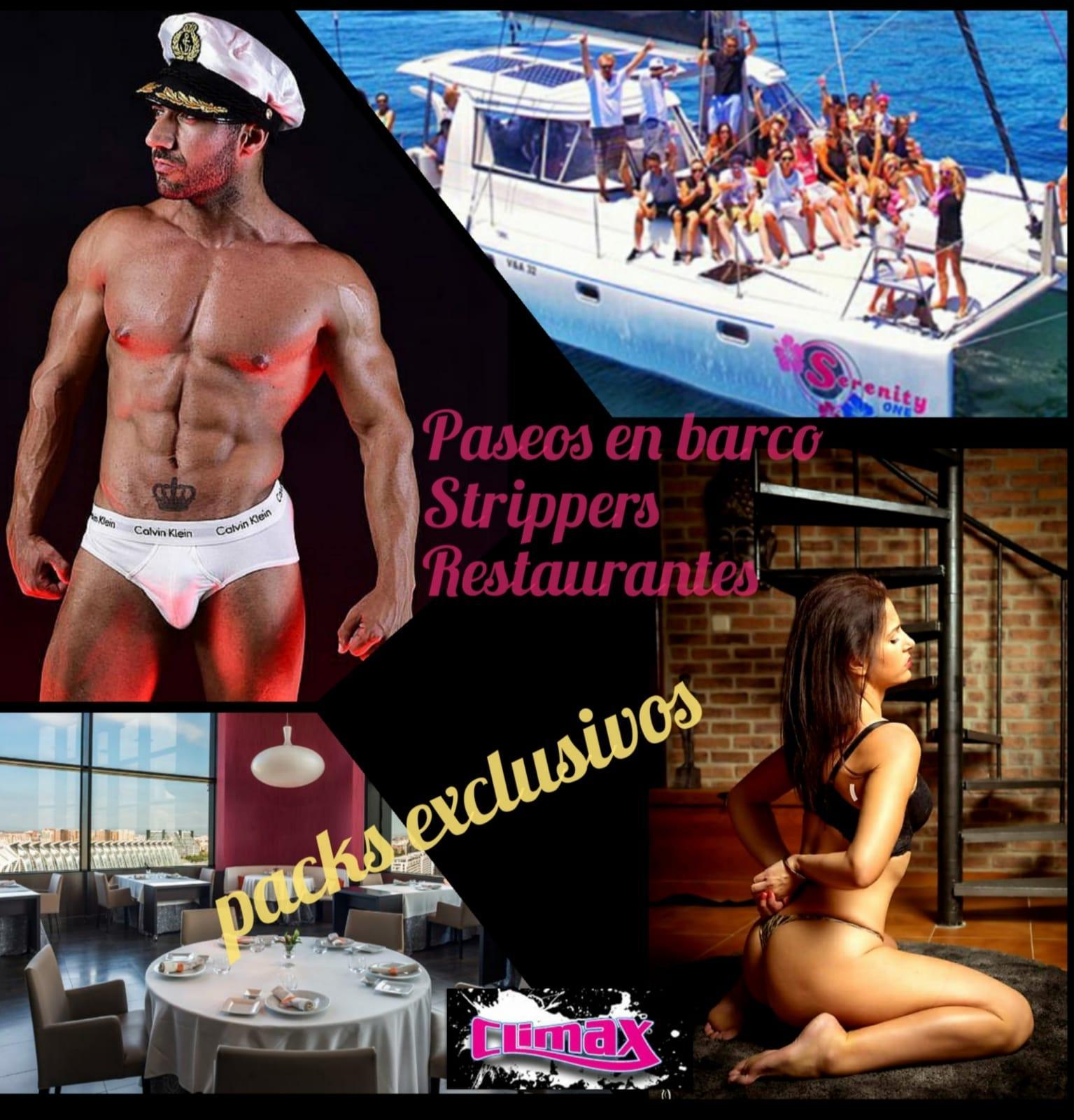Paseos en barco, Strippers, Restaurantes